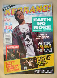 <!--1992-11-28-->Kerrang magazine - Mike Patton cover (28 November 1992 - I