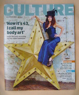 <!--2012-09-23-->Culture magazine - Helen McCrory cover (23 September 2012)