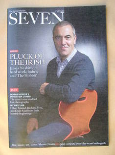 Seven magazine - James Nesbitt cover (23 September 2012)