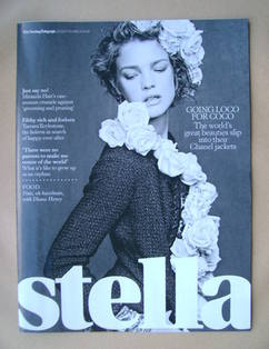 <!--2012-09-23-->Stella magazine - Natalia Vodianova cover (23 September 20