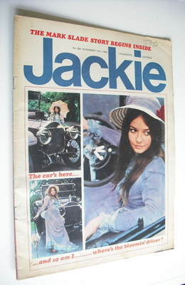 <!--1969-11-15-->Jackie magazine - 15 November 1969 (Issue 306)