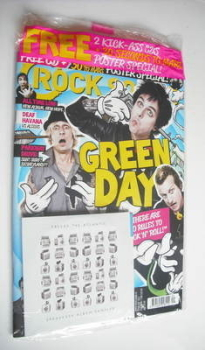 Rock Sound magazine - Green Day cover (September 2012)