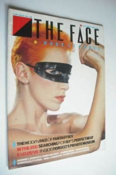 The Face magazine - Annie Lennox cover (October 1983 - Issue 42)