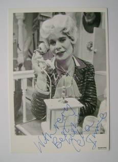 Celia Imrie autograph (hand-signed photograph)