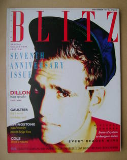 <!--1987-09-->Blitz magazine - September 1987 - Matt Dillon cover