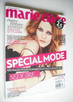 France Marie Claire magazine - Vanessa Paradis cover (September 2012)