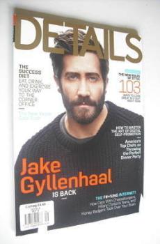 Details magazine - September 2012 - Jake Gyllenhaal cover