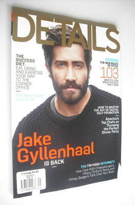 <!--2012-09-->Details magazine - September 2012 - Jake Gyllenhaal cover