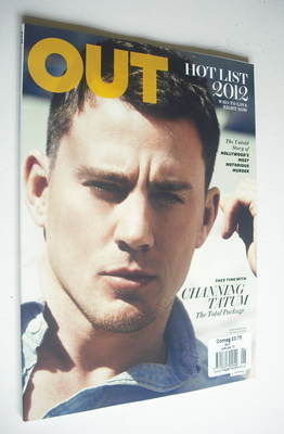 <!--2012-->Out magazine - Channing Tatum cover (2012)