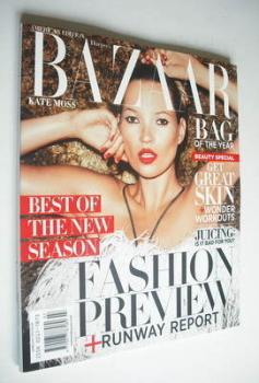Harper's Bazaar magazine - June/July 2012 - Kate Moss cover