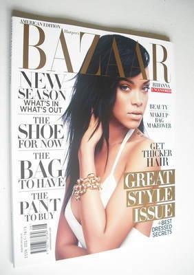 <!--2012-08-->Harper's Bazaar magazine - August 2012 - Rihanna cover