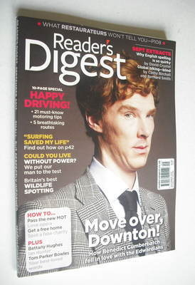 Reader's Digest magazine - Benedict Cumberbatch cover (September 2012)