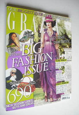 <!--2012-09-24-->Grazia magazine - Big Fashion Issue (24 September 2012)