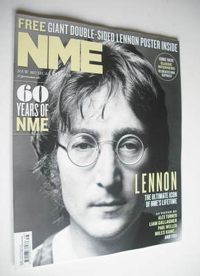 <!--2012-09-22-->NME magazine - John Lennon cover (22 September 2012)