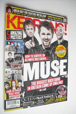 <!--2012-09-29-->Kerrang magazine - Muse cover (29 September 2012 - Issue 1