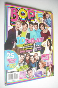 BOP magazine - September 2012 - One Direction cover