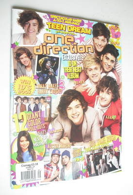 Word Up magazine - Teen Dream One Direction cover (September 2012)