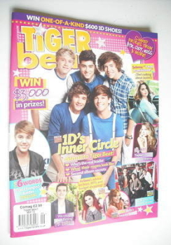 Tiger Beat magazine - September 2012 - One Direction cover