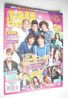 <!--2012-09-->Tiger Beat magazine - September 2012 - One Direction cover