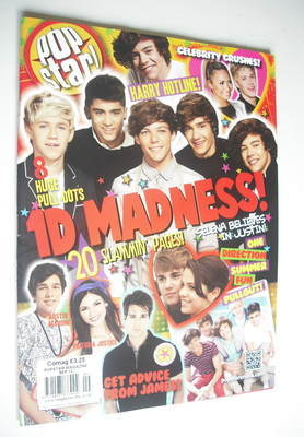 <!--2012-09-->POPSTAR magazine - September 2012 - One Direction cover
