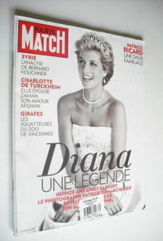 Paris Match magazine - 23 August 2012 - Princess Diana cover