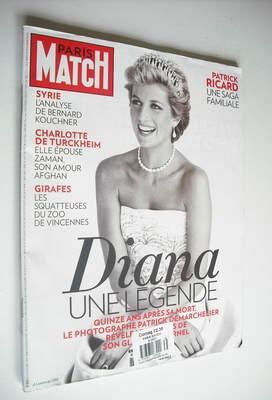<!--2012-08-23-->Paris Match magazine - 23 August 2012 - Princess Diana cov
