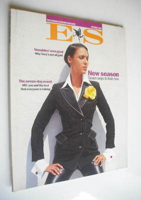 <!--1992-10-->Evening Standard magazine - New Season cover (October 1992)