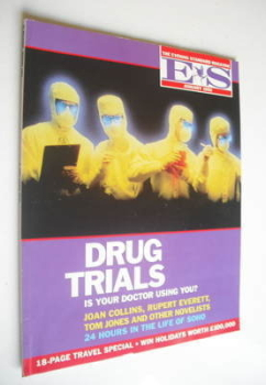 Evening Standard magazine - Drug Trials cover (January 1992)