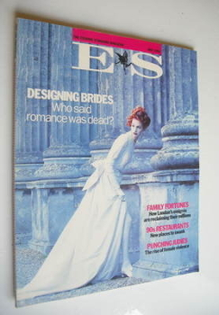 Evening Standard magazine - Designing Brides cover (May 1992)