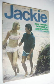 Jackie magazine - 9 August 1969 (Issue 292)