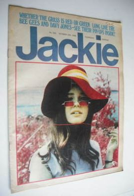 <!--1968-10-19-->Jackie magazine - 19 October 1968 (Issue 250)