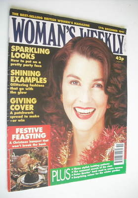 <!--1991-12-17-->Woman's Weekly magazine (17 December 1991)