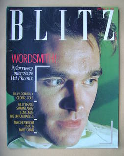 Blitz magazine - May 1985 - Morrissey cover