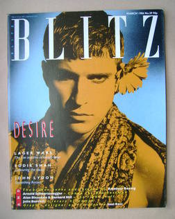 <!--1986-03-->Blitz magazine - March 1986 - David Convy cover