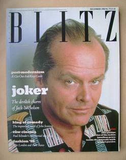 <!--1988-12-->Blitz magazine - December 1988 - Jack Nicholson cover