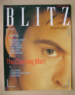Blitz magazine - March 1985 - Paul Young cover