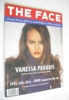 <!--1992-01-->The Face magazine - Vanessa Paradis cover (January 1992 - Volume 2 No. 40)
