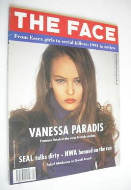<!--1992-01-->The Face magazine - Vanessa Paradis cover (January 1992 - Vol