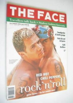 The Face magazine - Flea and Anthony Kiedis (Red Hot Chili Peppers) cover (August 1992 - Volume 2, Number 47)