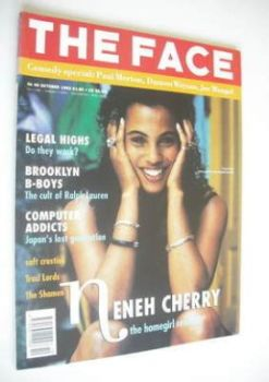 The Face magazine - Neneh Cherry cover (October 1992 - Volume 2 No. 49)
