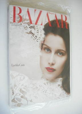 <!--2012-10-->Harper's Bazaar magazine - October 2012 - Laetitia Casta cove