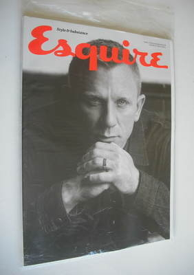 <!--2012-10-->Esquire magazine - Daniel Craig cover (October 2012 - Subscri