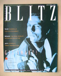 <!--1986-06-->Blitz magazine - June 1986 - Matthew Lipsey cover