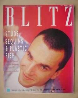 Blitz magazine - July 1986 - Daniel Day Lewis cover