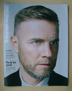 <!--2012-10-06-->Telegraph magazine - Gary Barlow cover (6 October 2012)