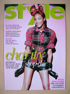 <!--2009-02-08-->Style magazine - Jourdan Dunn (8 February 2009)
