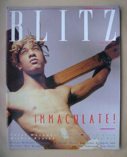 <!--1986-01-->Blitz magazine - December 1985 / January 1986
