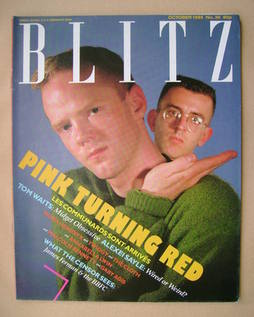 <!--1985-10-->Blitz magazine - October 1985 - The Communards cover