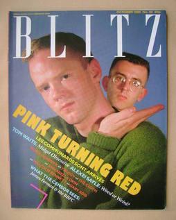 Blitz magazine - October 1985 - The Communards cover