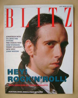 <!--1988-07-->Blitz magazine - July 1988 - Mick Jones cover